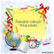 Żegnajcie wakacje! Witaj szkoło! - KARTKI.pl